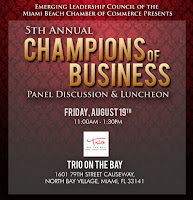 Champions of Business Luncheon and Panel Discussion