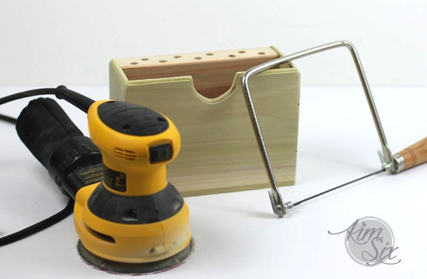 Sanding and Coping Saw Beginnner DIY project