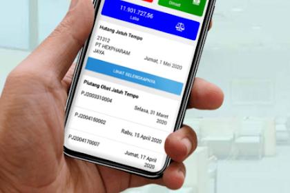Aplikasi Monitor Stok Obat dan Keuangan di Apotek Menggunakan Vmedis Web dan Vmedis Mobile