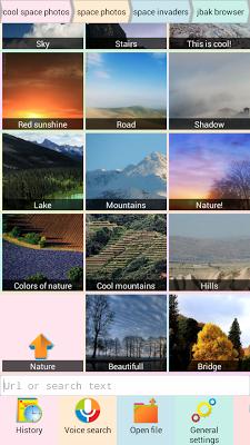 Jbak Browser - screenshot