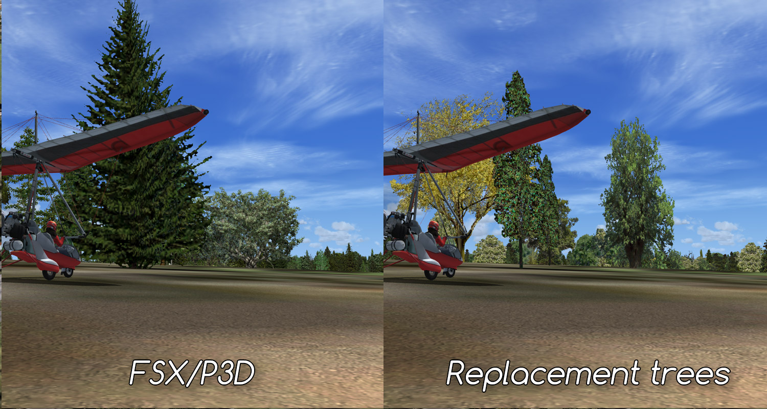 Moon, roads, rocks and trees - freeware for FSX & P3D • C-Aviation
