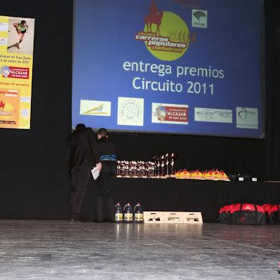 Gala del Circuito 2011 - Alcázar de San Juan