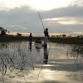 Met de Mokoro door de Okavango Delta