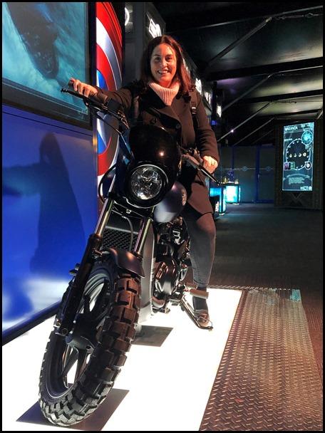Marvel Avengers S.T.A.T.I.O.N. London Captain America's Harley Davidson