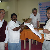 5. S Ramana Rao EC member giving away a prize to A Subba Raju and PN Malhotra