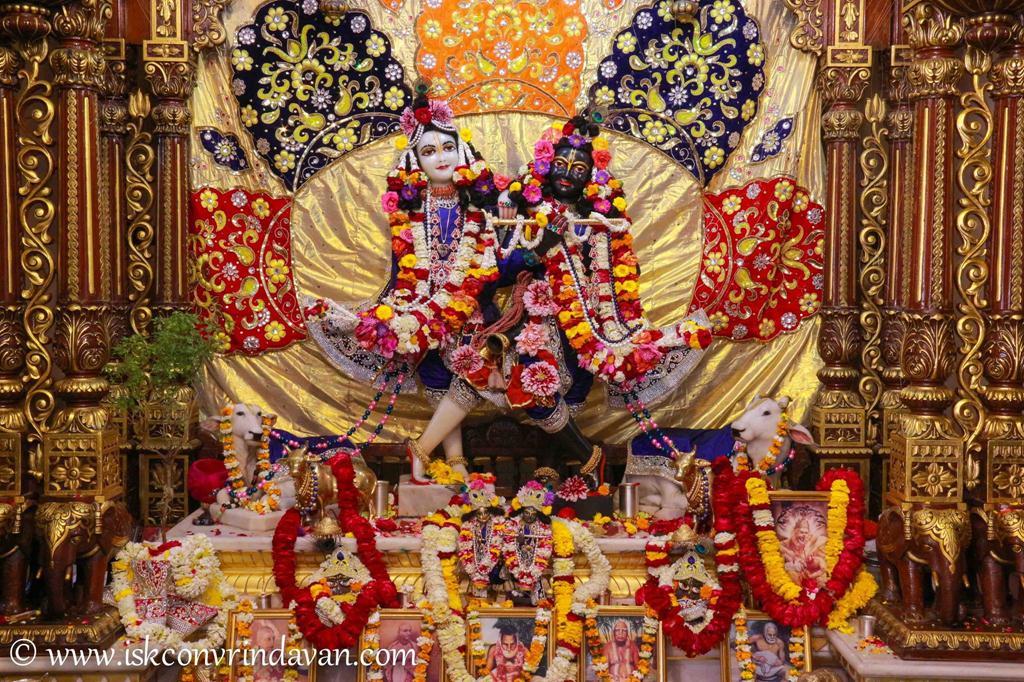 ISKCON Vrindavan Sringar Deity Darshan 12 Mar 2016 (5)