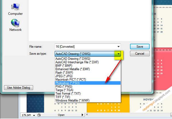 Hướng dẫn chuyển đổi định dạng file EPS sang PSD