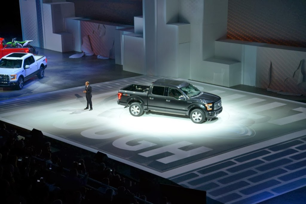 2015 Ford F-150 Unveiling NAIAS 8