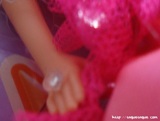 mi Babie Favorita 1977 - Barbie Superstar: detalle del anillo
