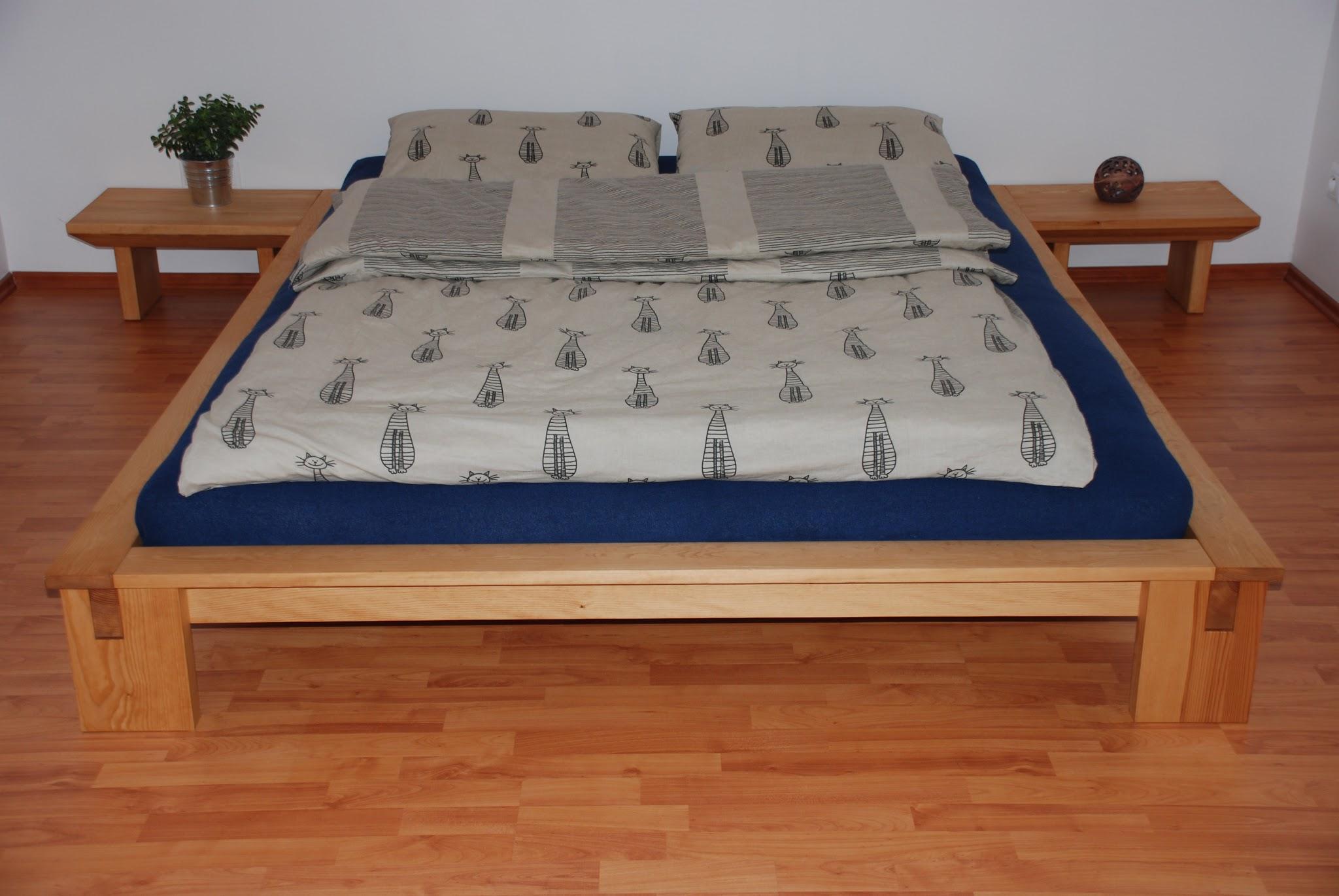 Stunning Vyr b me postel Matsu masiv borovice futon bavlna vlna kokos Kidokai home
