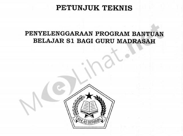 Juknis Beasiswa S1 Guru Madrasah 2015