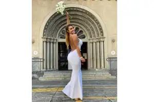 FOTOS: Sensual modelo brasileña se casó con ella misma porque no ha tenido suerte con los hombres