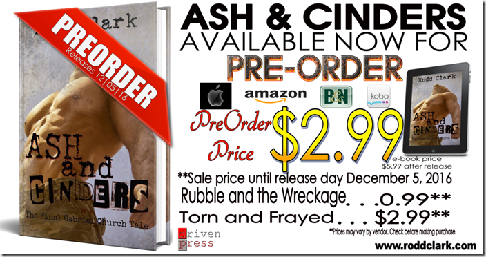 PREORDER SALE GRAPHIC ASH&CINDERS