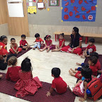 Red Day Celebrated by Playgroup at Witty World (2015-16)