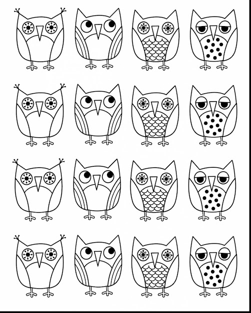 Remarkable Printable Owl Coloring Pages Kids With Owl Coloring Page And Owl  Coloring Pages For Adults