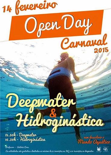 Open Day celebra o Carnaval nas Piscinas Cobertas