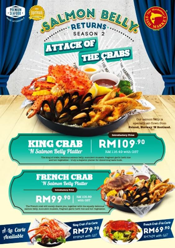 new promotion manhattan king crab 2016