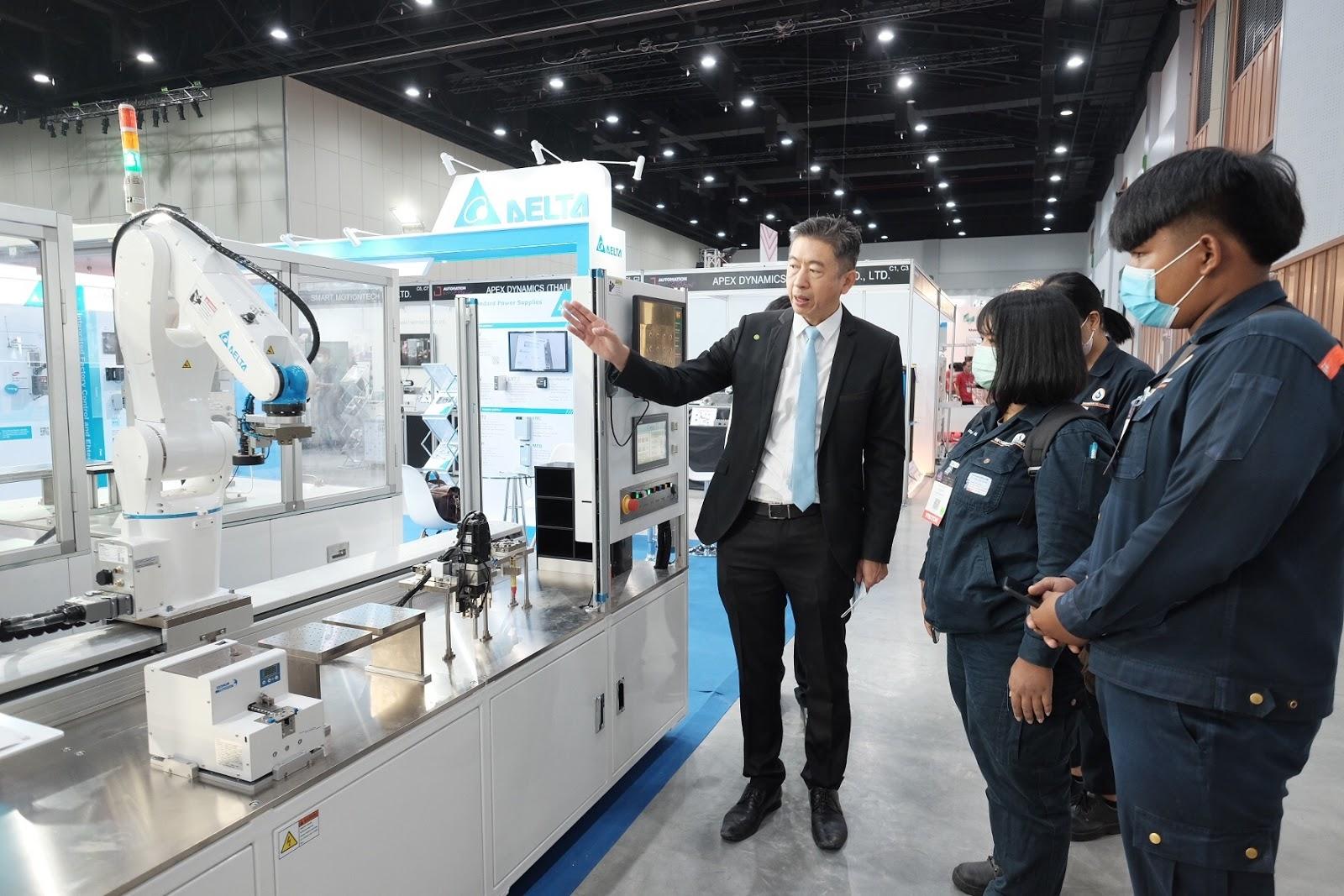 Delta จัดแสดงโซลูชันระบบอุตสาหกรรมอัตโนมัติเพื่อกระตุ้นการฟื้นตัวภาคการผลิตในยุค New Normal ณ งาน Automation Expo 2020