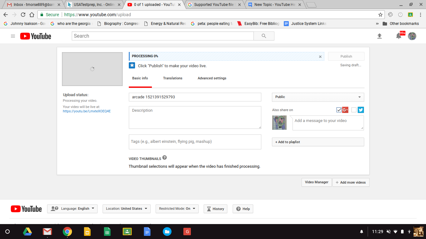 Why won't my  mp4 video upload? - YouTube Help