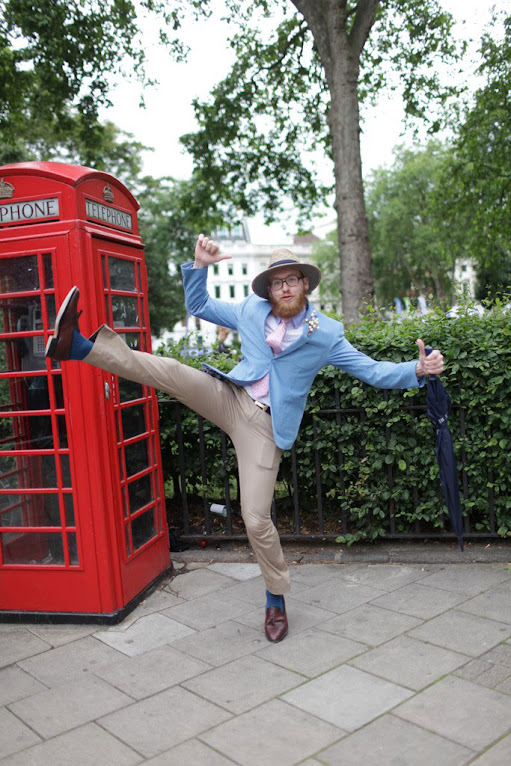 *英國倫敦時裝周場外街拍:攝影師Kuba Dabrowski捕捉街頭英倫紳士! 1