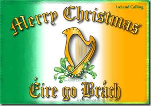 Merry Christmas-Eire go Brach