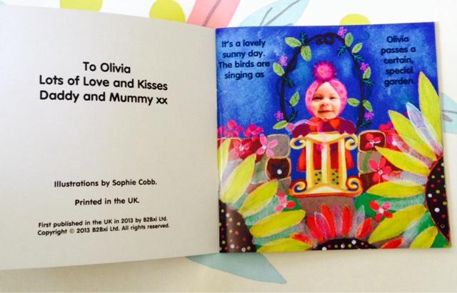 Bobadeg Personalised Kids Book