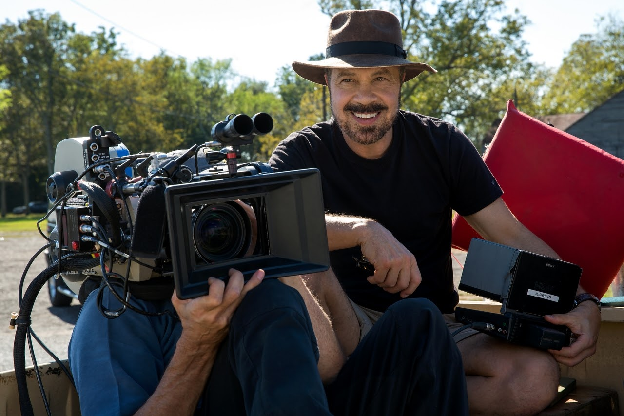 Director Edward Zwick on the set of JACK REACHER: NEVER GO BACK from Paramount Pictures and Skydance Productions.