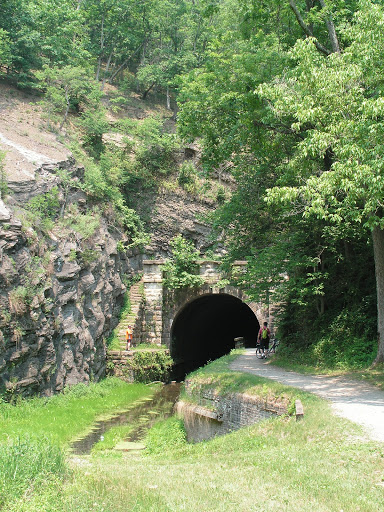 Paw Paw Canal and Tow Path Tunnel