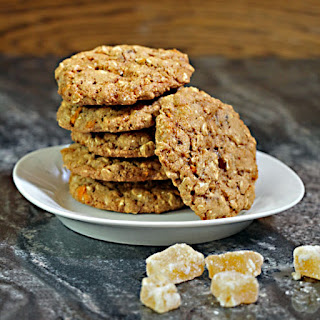 Whole Grain Ginger Chunk Cookies