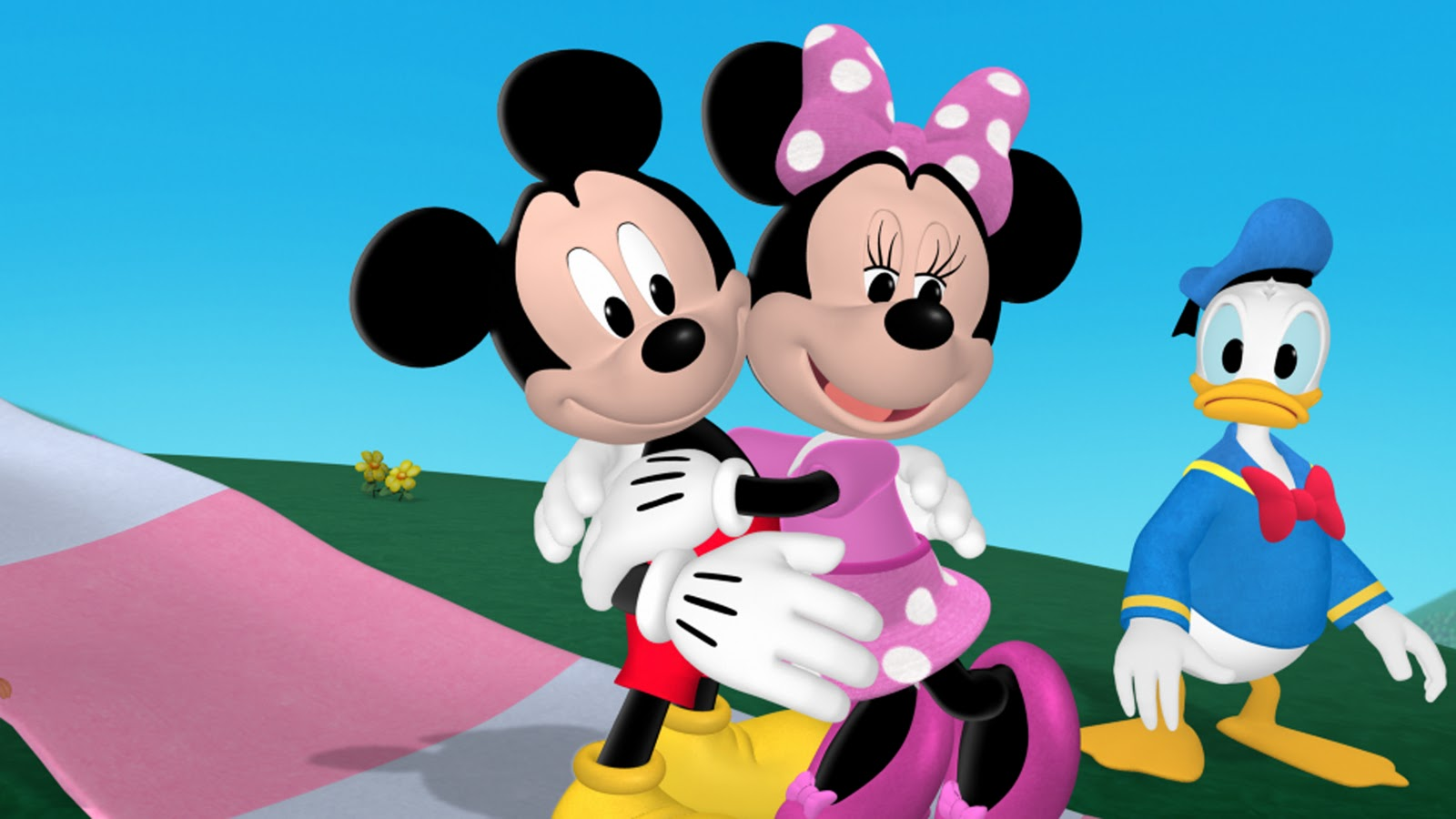 mickey mouse with minnie - photo #39