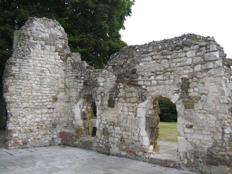 ruins in arundel