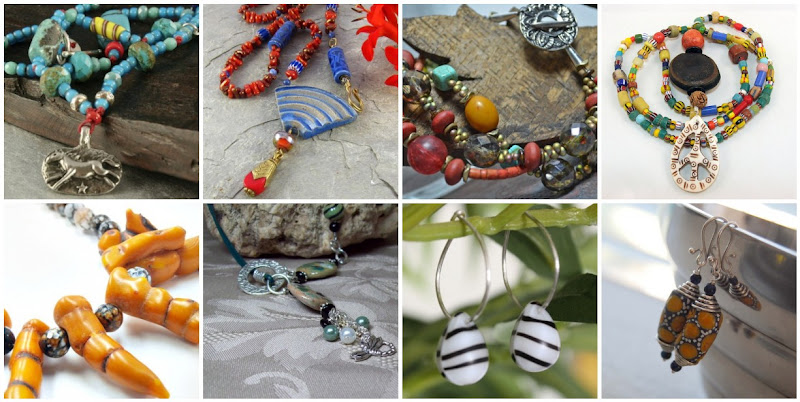 African Trade Bead and Tribal Jewelry