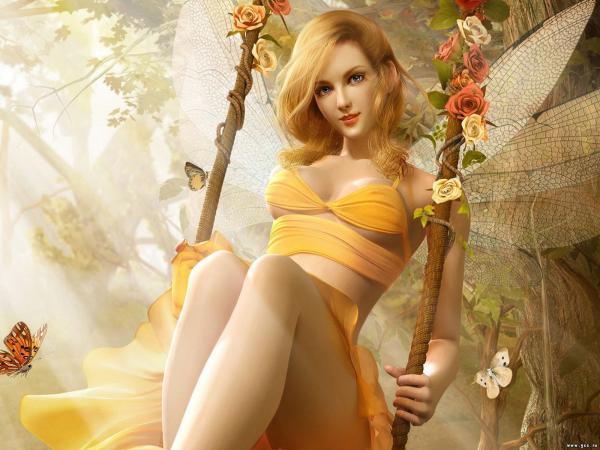 Yellow Fairy, Fairies Girls 2