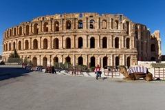 El Jem Amphitheater Exterior