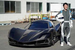 The $4 million Japanese Aspark Owl electric supercar
