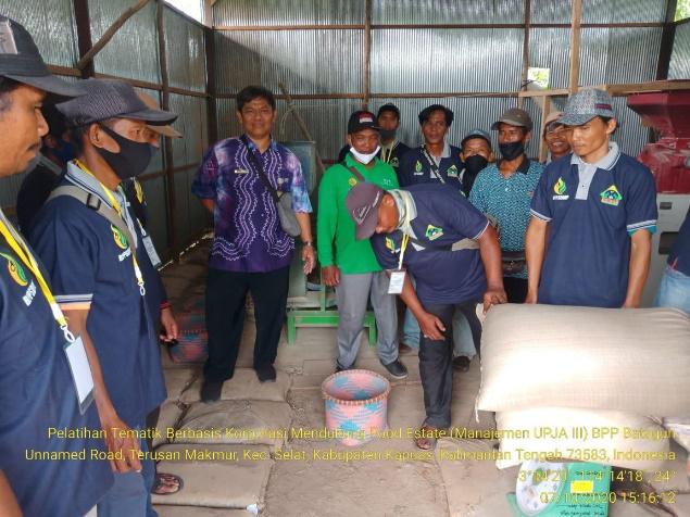 BBPP Binuang Cetak Manajer Profesional UPJA pada Program Food Estate