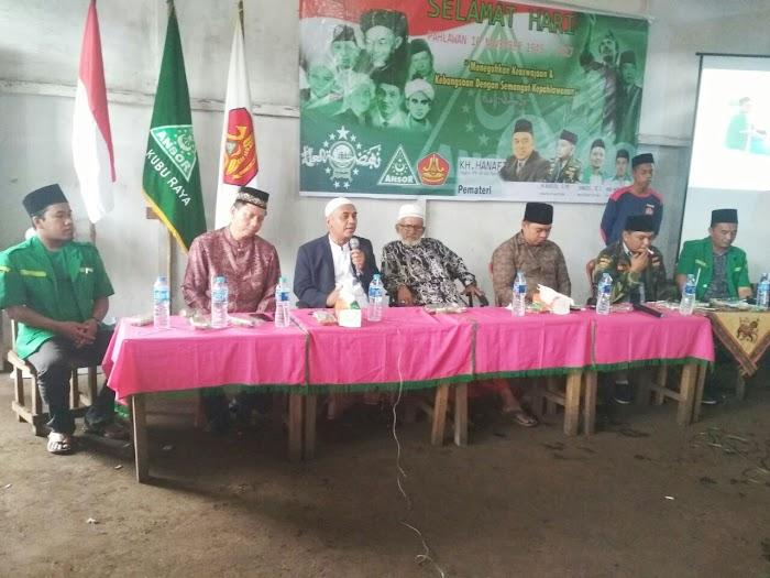 Seminar Kebangsaan GP Ansor, KH. Hanafi Kholil Ulas Keaswajaan dan Kebangsaan dengan Semangat Kepahlawanan