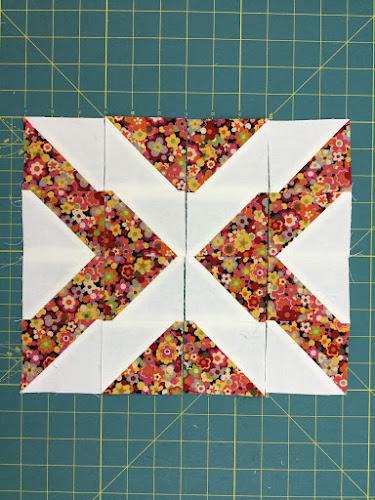 Block 8: 16 HST quilt sampler