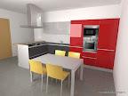 rendering cucina artematica vitrum valcucine 4
