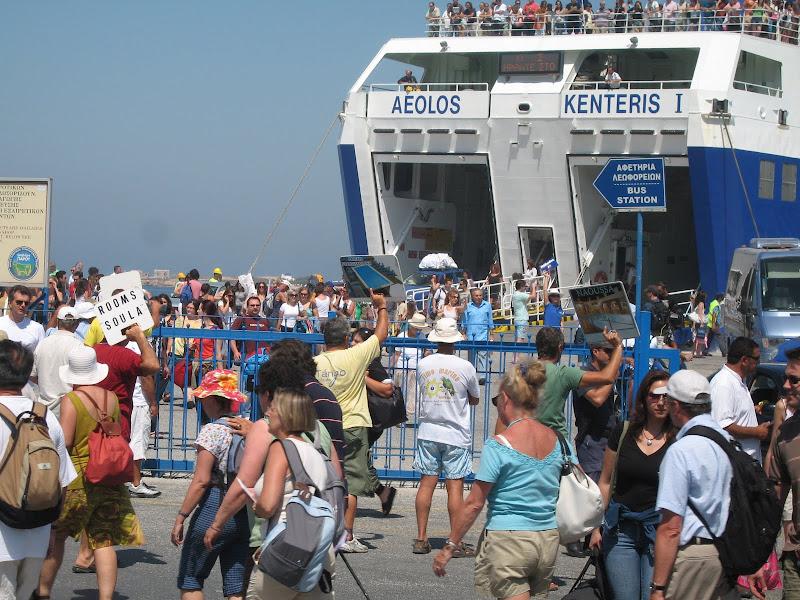 Blog de voyage-en-famille : Voyages en famille, Départ de Paros
