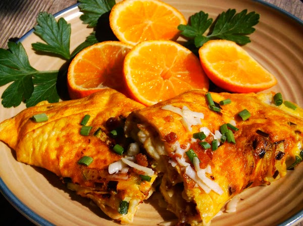Summer Squash Omelette Recipe