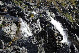 Kuva: vähänkin veden aikaan tämäkin putous on mielenkiintoinen katseltava