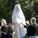 a Szent István szobor leleplezése