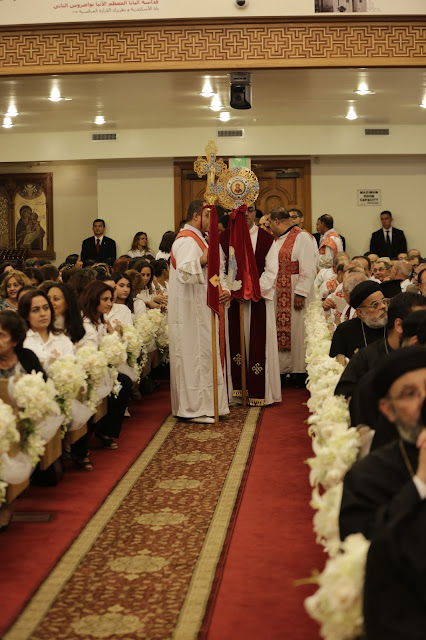 His Holiness Pope Tawadros II visit to St. Mark LA - _09A9017.JPG