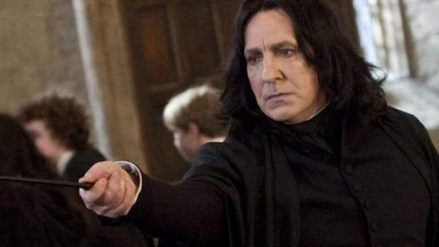 Harry Potter – Fã reúne cenas de Snape em Ordem Cronológica