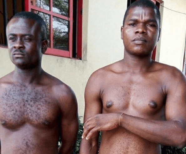 Two Fake SARS Operatives Arrested In Rivers State (Photos) #EndSars