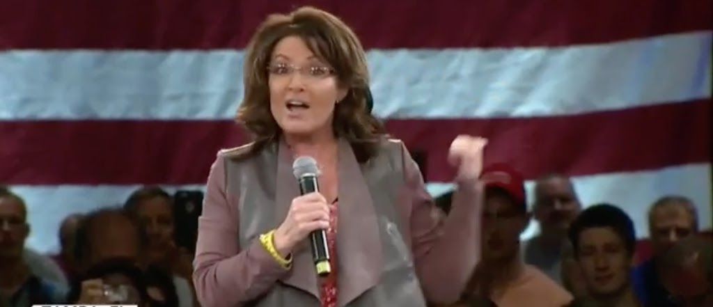 Video: Sarah Palin slams 'punk-ass' anti-Trump 'thuggery'