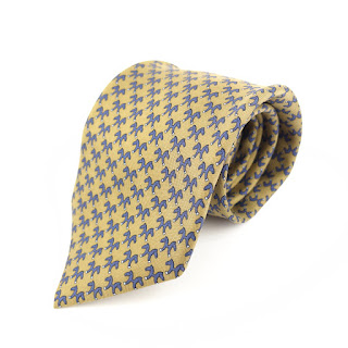 Hermès Silk Equestrian Tie