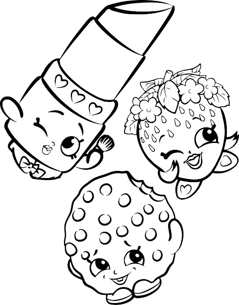 Your Mouth Will Water With These New Shopkins Coloring Pages But Dont Eat