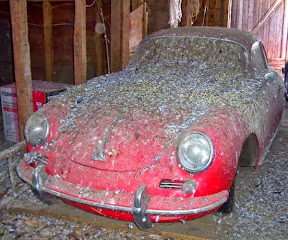 Abandoned Porsche 356